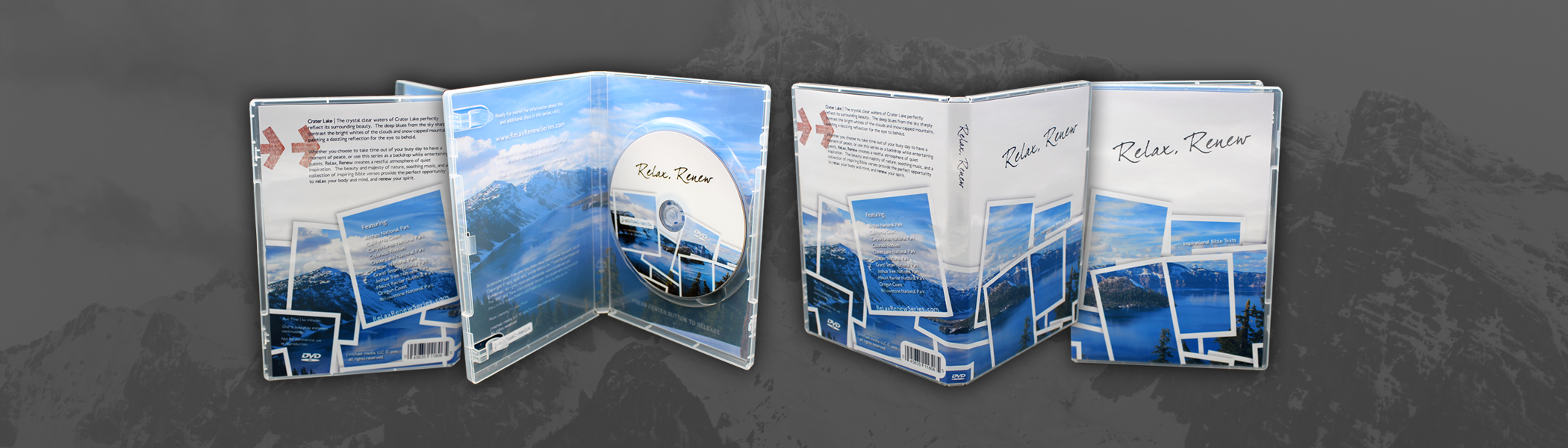 DVDs in Clear Jewel Cases