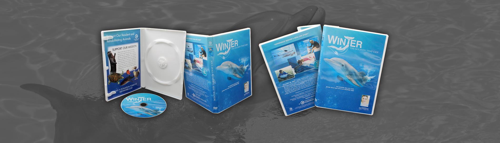 Discs in White DVD Case with insert