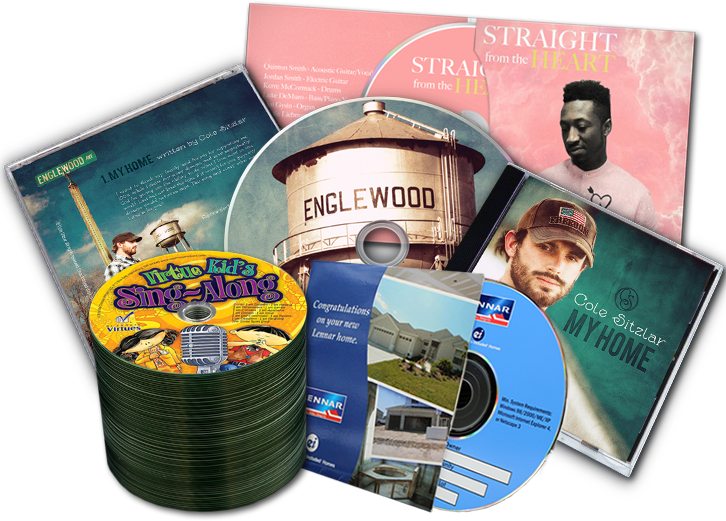 24 Hour Cd Printing Duplication And Packaging