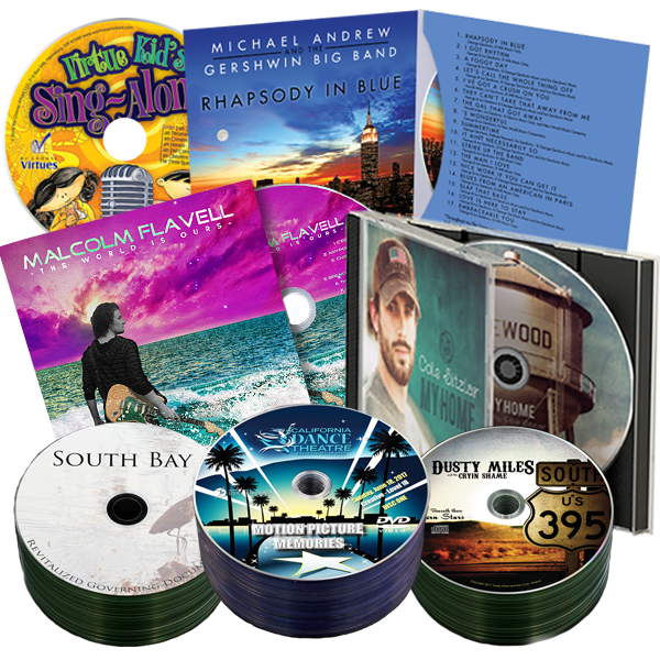 24 Hour CD and DVD Packages