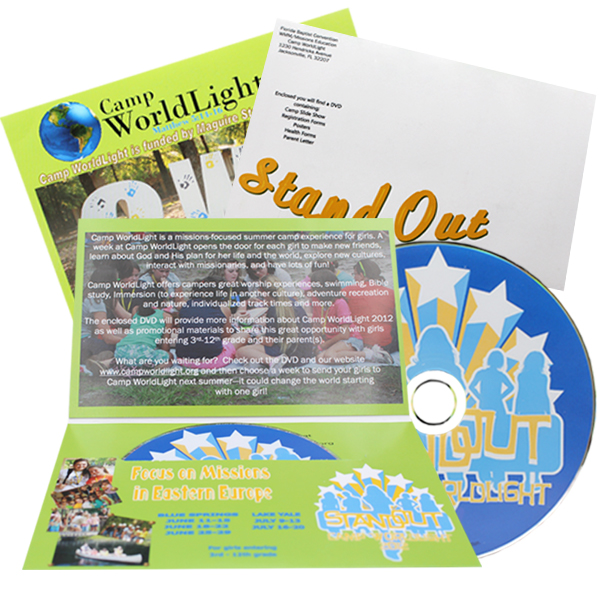 Discs in Mailers