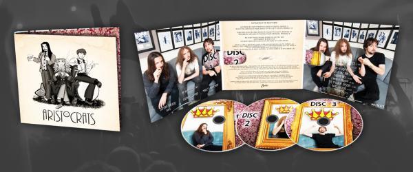 3 Disc 6 Panel Wallet