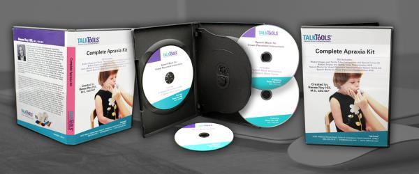 4 Disc Set In 5x7 Plastic Case