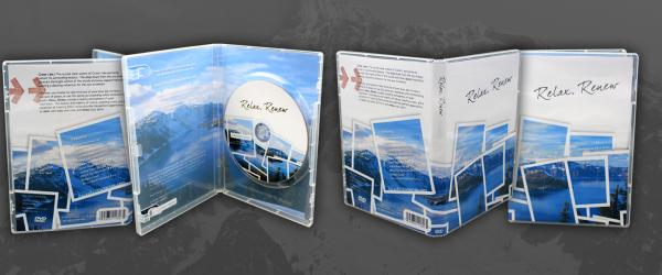 Discs In Clear DVD Case
