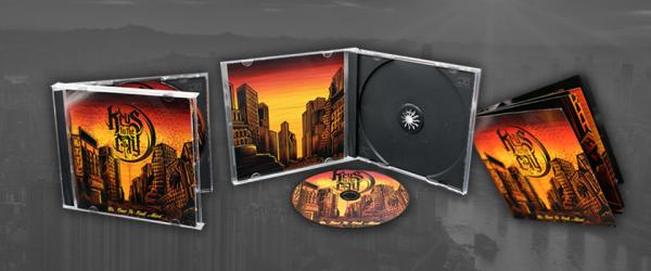 8 Page Booklet in Jewel Case