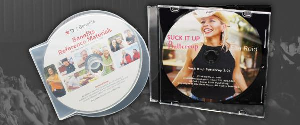 CD Clam Shells and Slim Jewel Cases