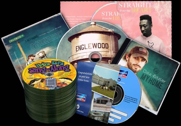 Printed disc packaging