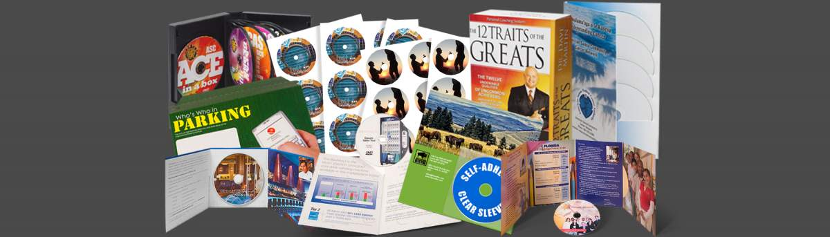 Custom DVD Packaging